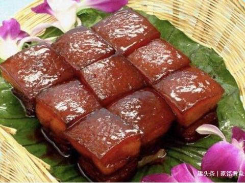美食推荐:荷兰豆炒山药、爆炒猪耳朵、梅菜扣肉、东坡肉的做法