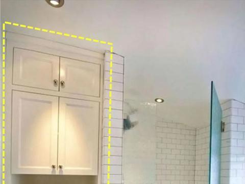 越来越多人淋浴房都榨干做储物了,侧边留40公分,收纳又多1㎡!