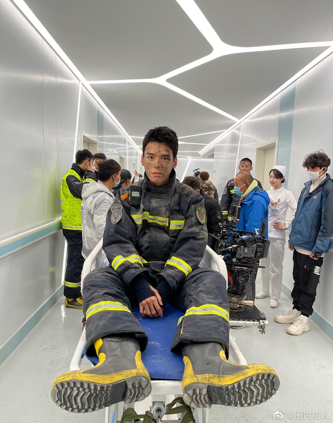 龚俊与张慧雯主演的《你好火焰蓝》豆瓣开分5.6分……