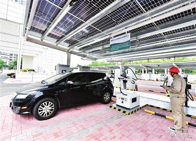 """津门湖新能源车综合服务中心""""一站式""""服务 助力""""双碳""""实现"""