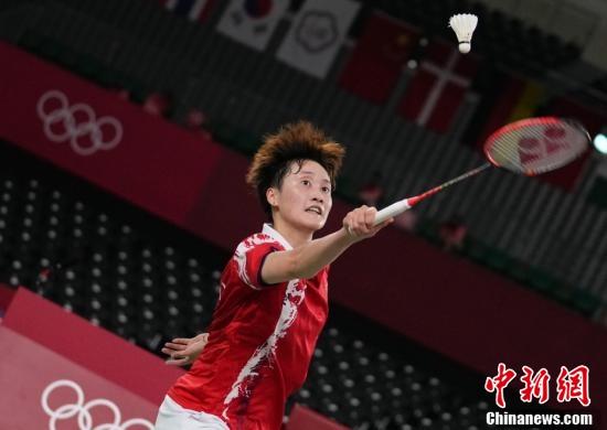 羽毛球女子单打半决赛 陈雨菲击败何冰娇晋级决赛