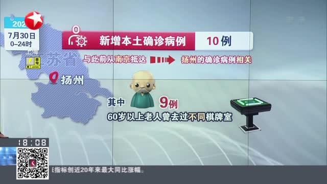 扬州已有5地调整为中风险地区
