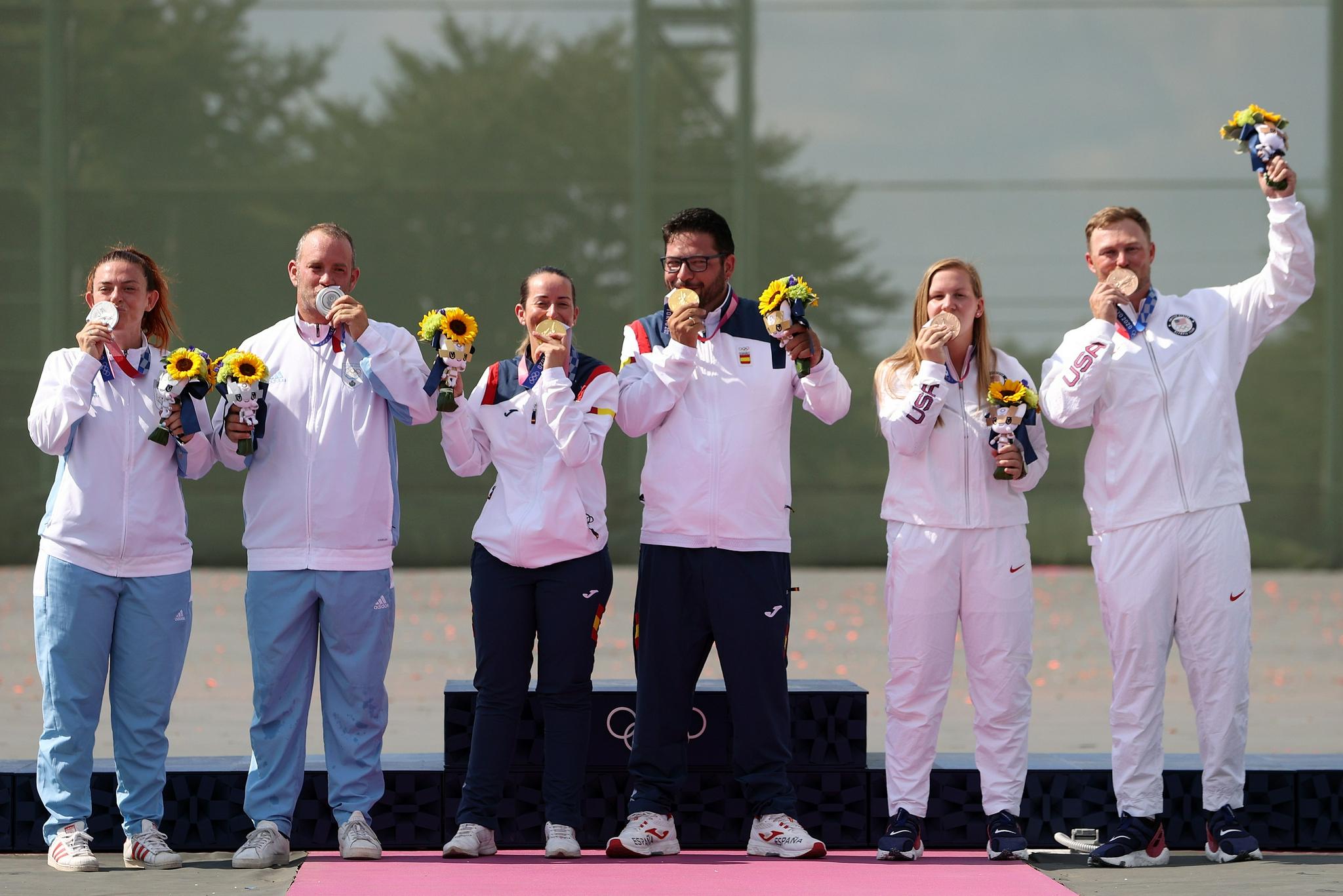 小国神迹还在继续,五人参赛的圣马力诺已获一银一铜,排名超过印度……