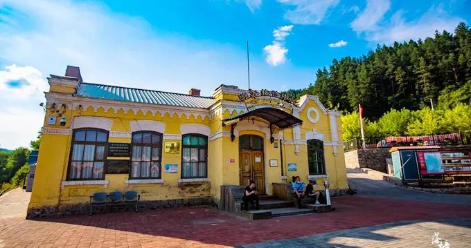 牡丹江有一座中东铁路博物馆,建筑极具特色,充满了时代的印记