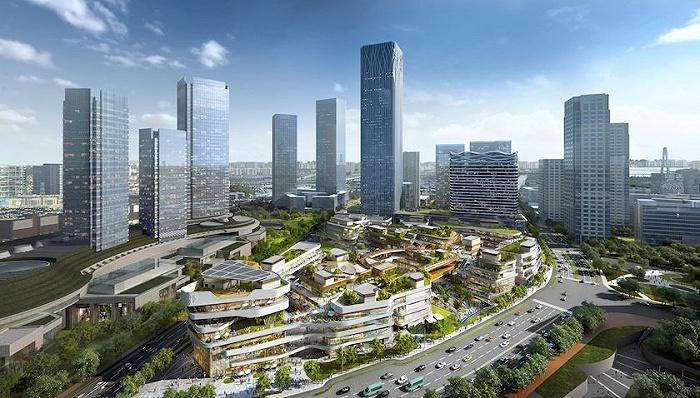 建设国际消费中心城市,上海前滩太古里、博荟广场ONE EAST吸引国际品牌入驻