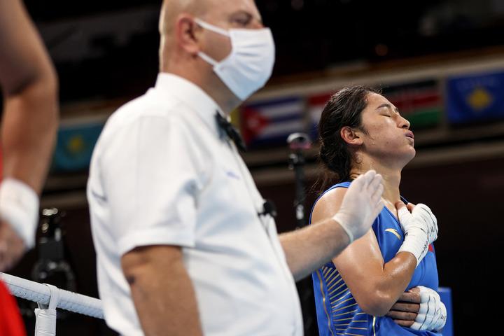 东京奥运会 拳击综合:李倩锁定奖牌 胡建关受伤出局