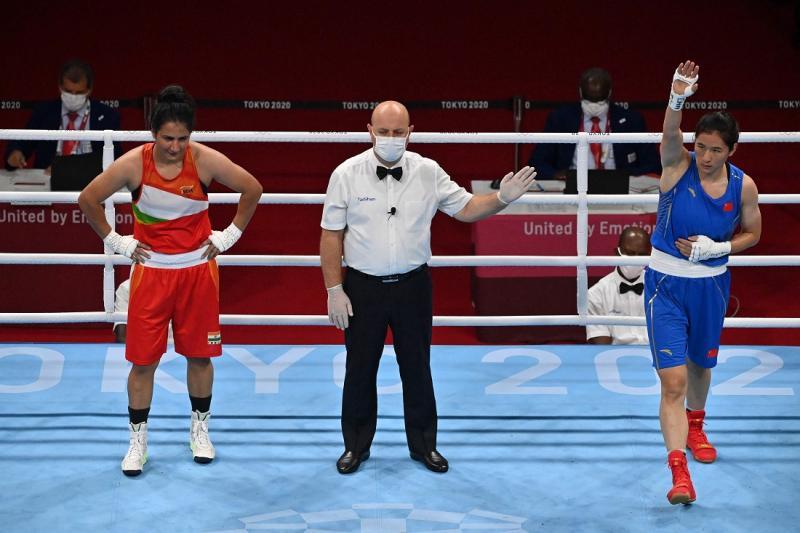 瞰奥·战况   李倩锁定女拳75公斤级奖牌 胡建关受伤出局