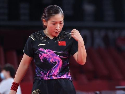 乒乓团体赛首日战报:国乒男女队一局未失,王曼昱表现成最大惊喜