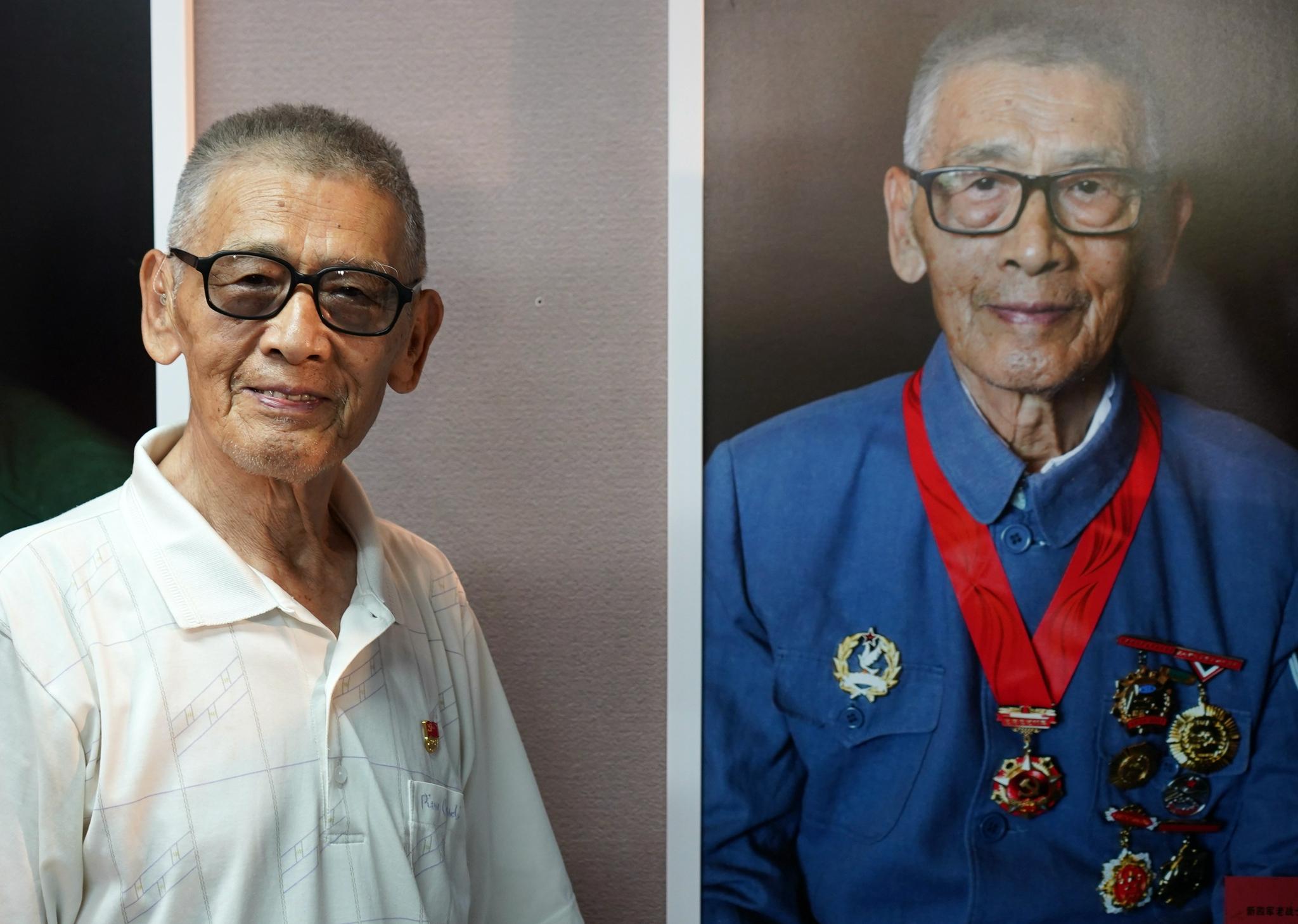 135幅抗战老兵肖像入藏中国人民抗日战争纪念馆