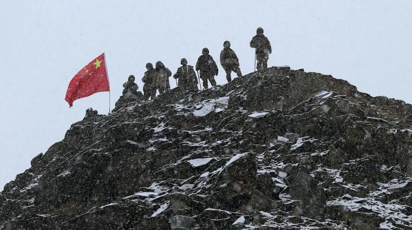 这,就是中国军人的模样!守护家国 为人民遮风挡雨