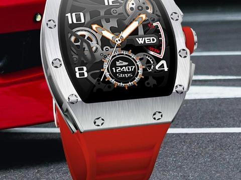 高颜值与科技感兼具,KRETA克里特M2智能手表正式发布!