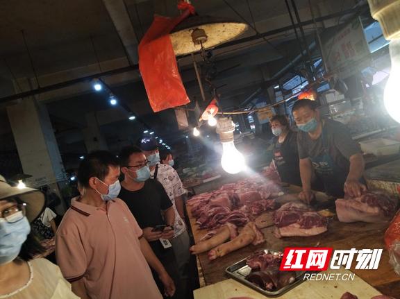 湘西州、吉首市市场监管局联合开展猪肉价格专项监督检查