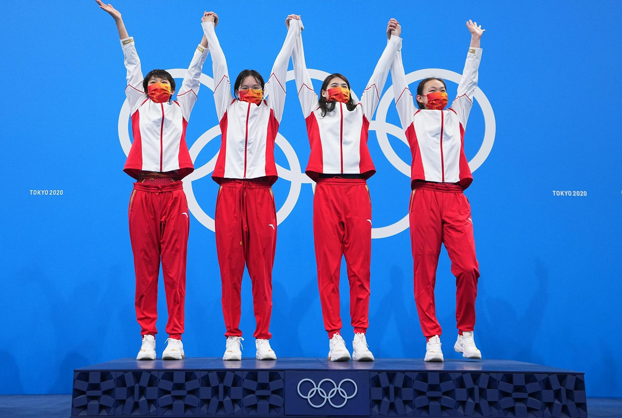 东京奥运会|长春姑娘汤慕涵摘金 东北大饭包安排上了
