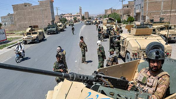 塔利班20年來首次威脅阿富汗大城市 并占領一電視臺