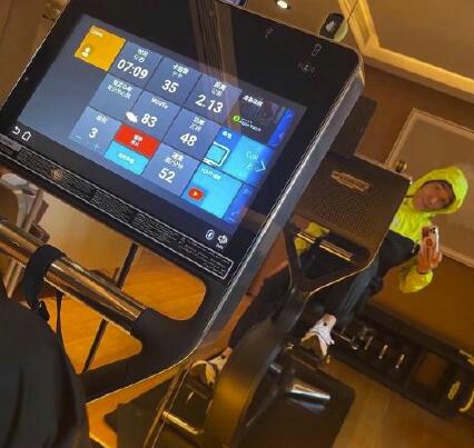 林依轮晒健身照自称追奥运会比赛瘦了10斤