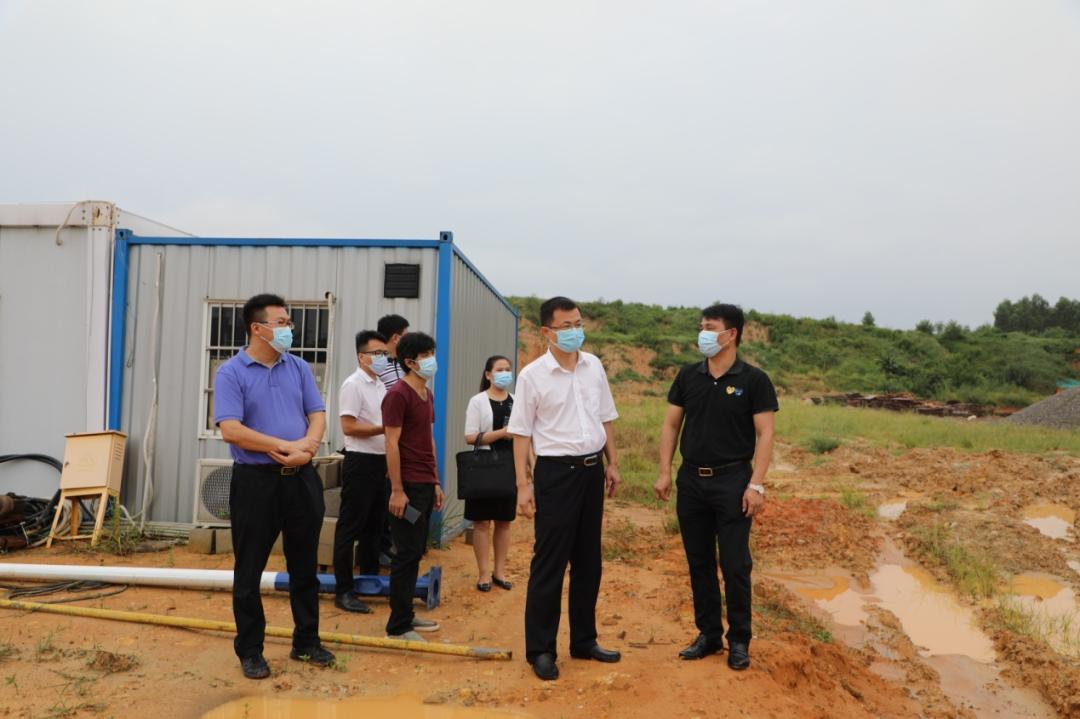 兴宁区区委书记高鑫调研城区部分重点项目建设进展情况