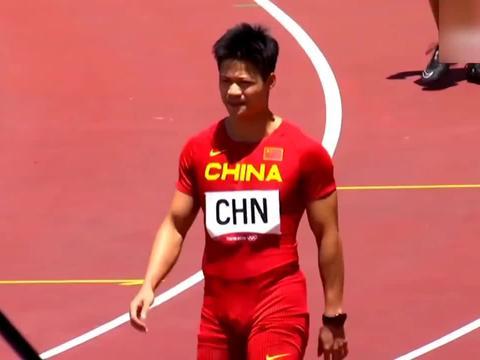 中国速度,苏炳添领衔男子4×100米接力第一名进入决赛