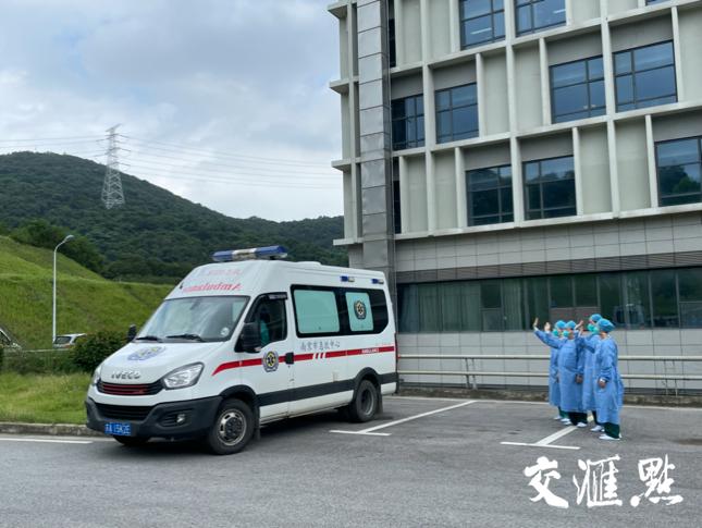 南京6例新冠患者今日出院转入康复点