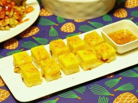 一碗糯米,一碗黄米,教你在家复刻黄米凉糕,做法简单软糯香甜