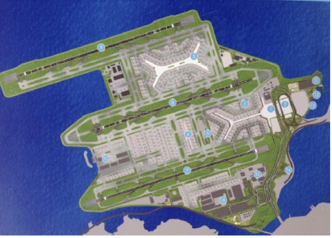 香港国际机场第三条跑道明年启用,特区政府刊宪修例配合