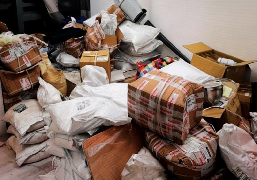 香港警方缴获的可制炸药的化学品(2020年3月)