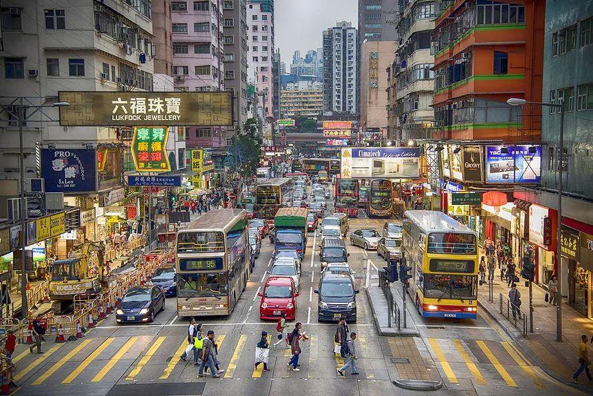 香港街景(资料图)