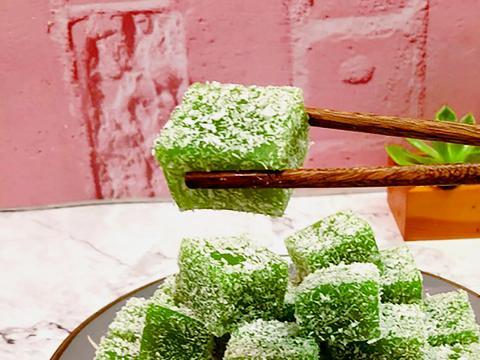 凉糕都吃过,但尝试过黄瓜口味的吗?清新爽口,软糯香甜,超简单