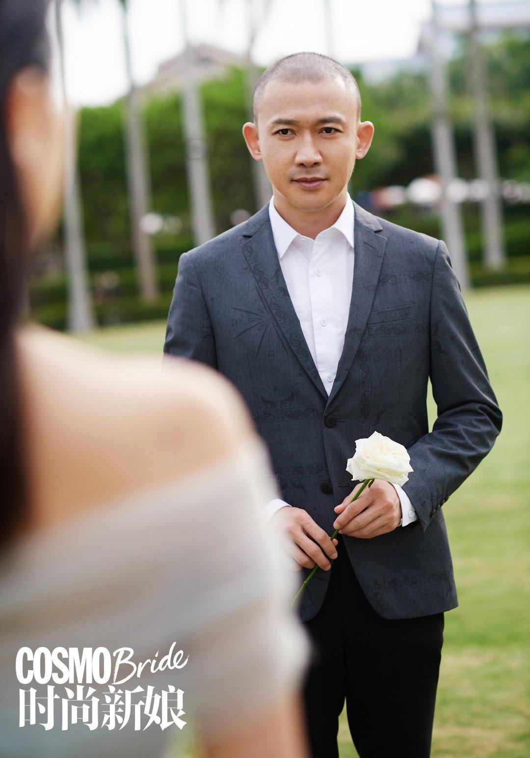 欢娱影视演员@聂远 《时尚新娘COSMOBride》封面大片今日发布