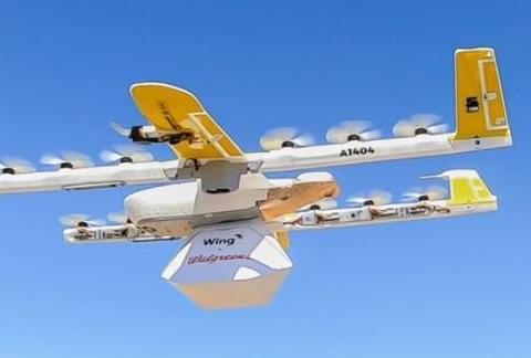 硬核观察 378 Alphabet 的无人机在去年送出了 1 万杯咖啡