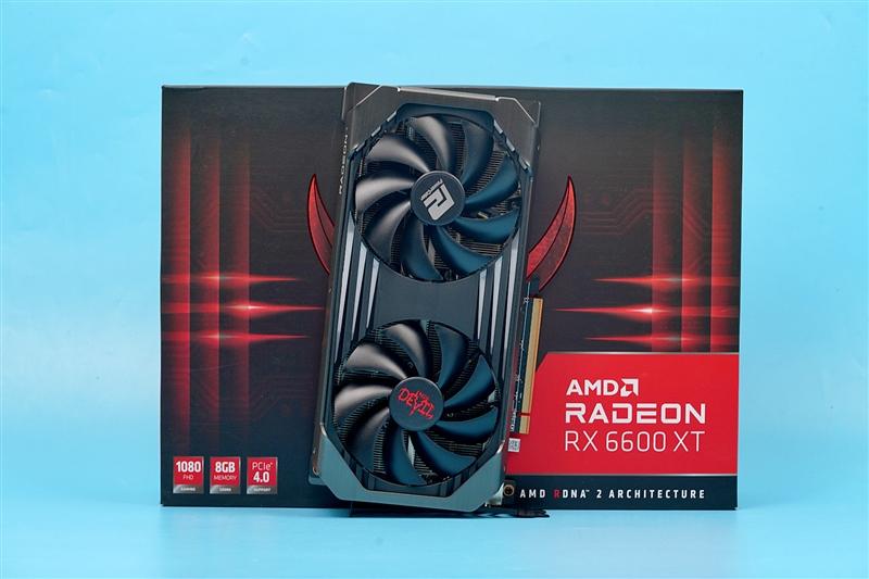 撼迅RX 6600 XT红魔评测:1080p太屈才了