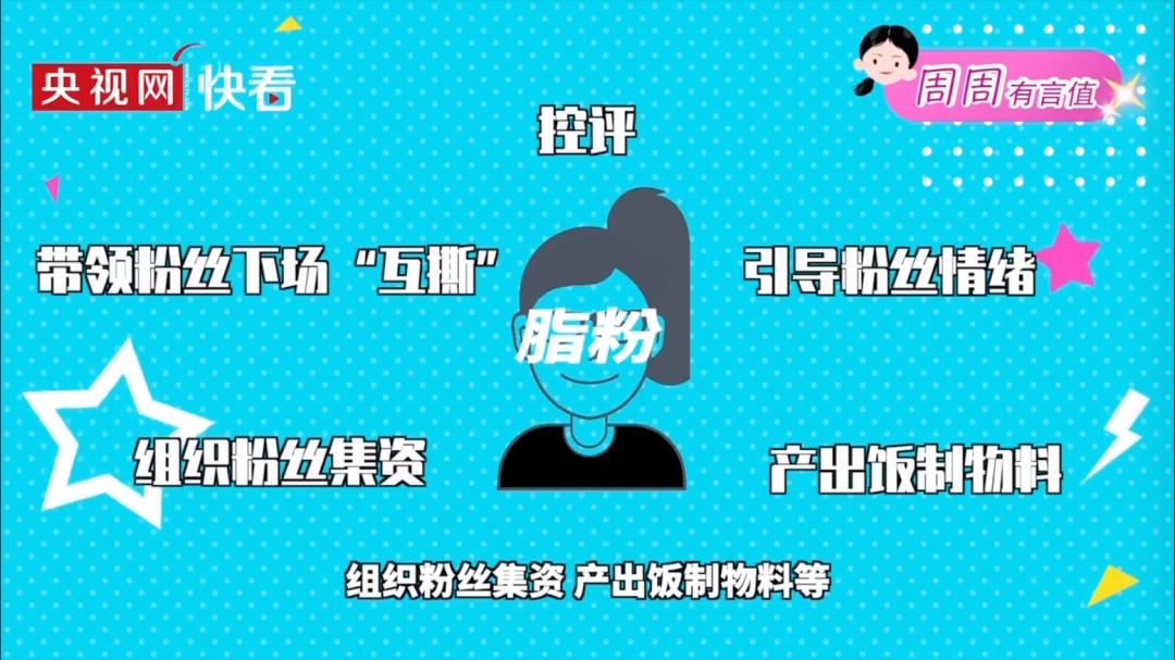 """线上职业粉丝""""作用多多""""(图源:央视)"""