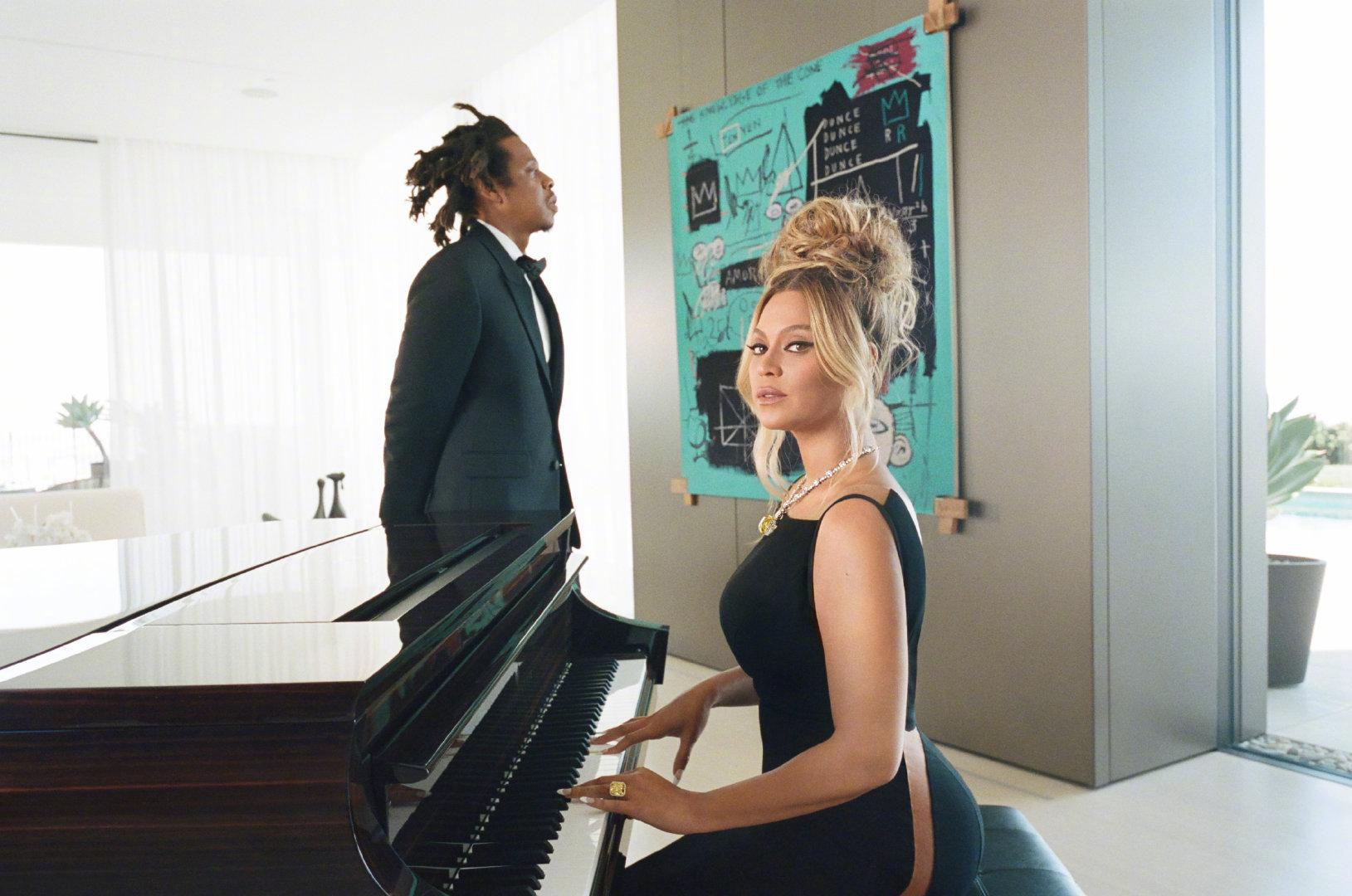 Beyoncé和JAY-Z夫妇联合倾情演绎Tiffany