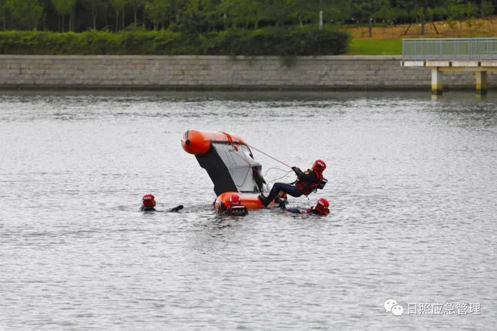 《【2号站平台代理】日照市第二期冲锋舟和橡皮艇专业技能实战化培训班圆满收官》