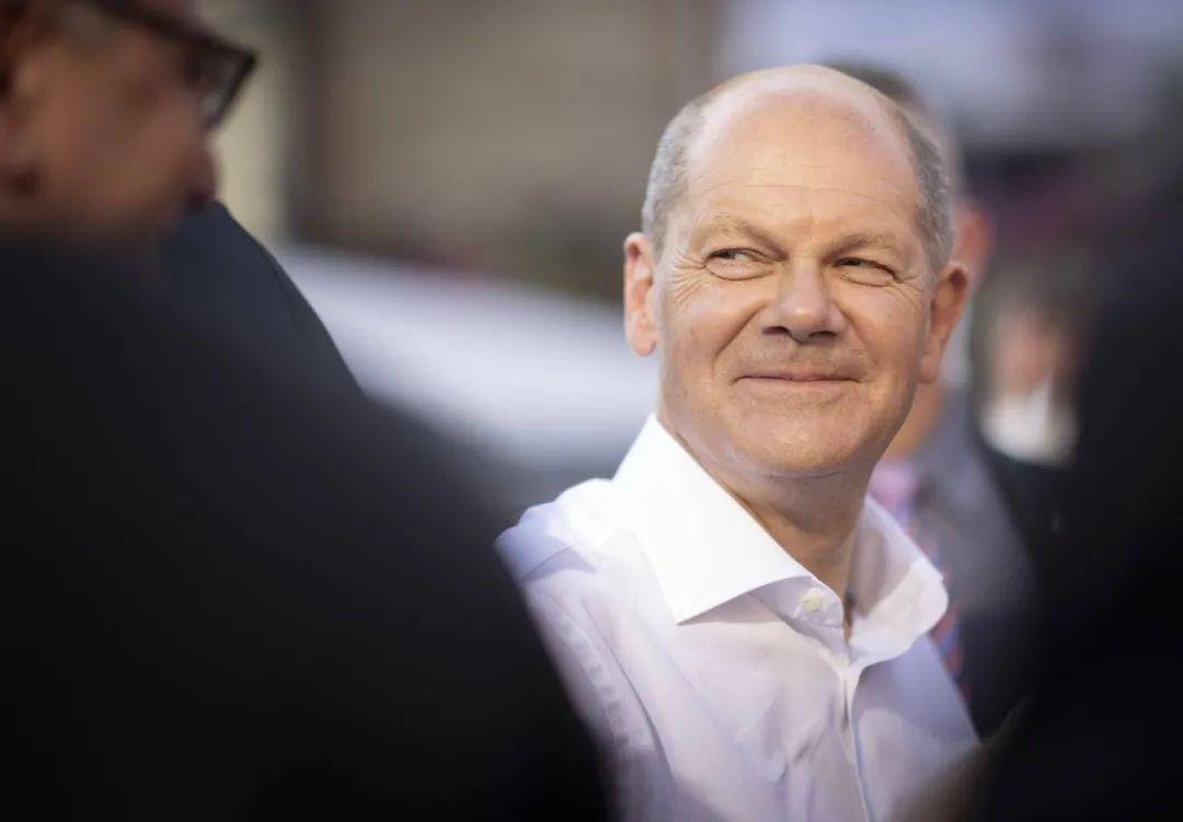 资料图:德国副总理、社民党总理候选人舒尔茨。/IC photo