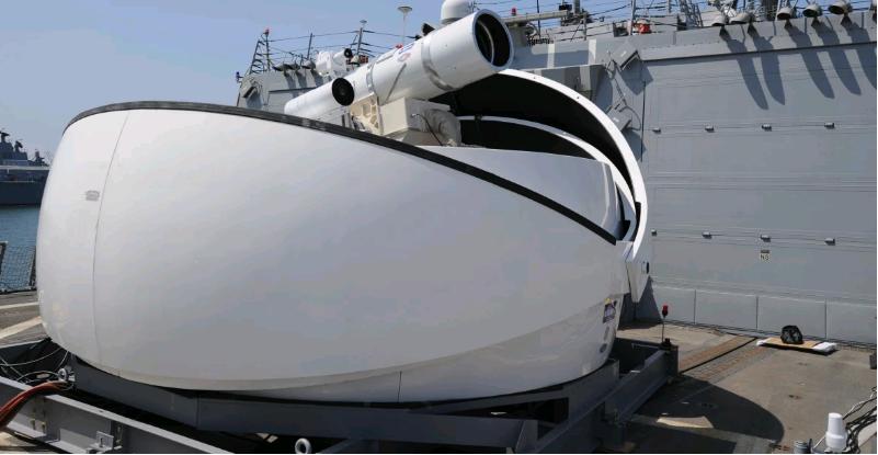 专门针对中国? 美装有先进激光武器驱逐舰抵达日本