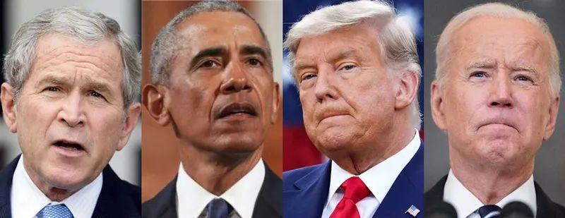 """历经20年""""反恐战争""""的四任美国总统"""