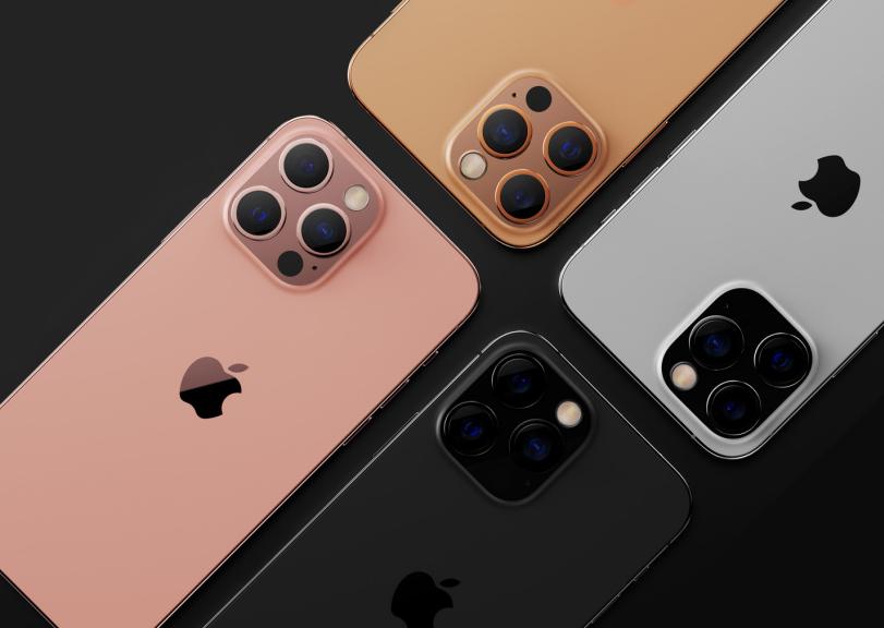 ▲ 苹果 iPhone 13 渲染图,图片来自 LETSGO DIGITAL