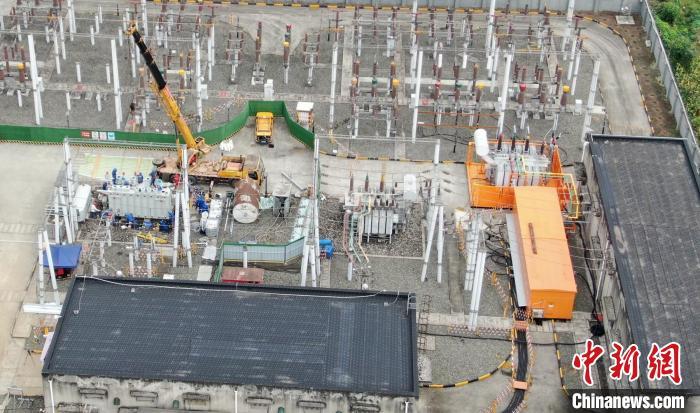 全国首例移动式变电站(镜像供配电系统)在蓉成功应用