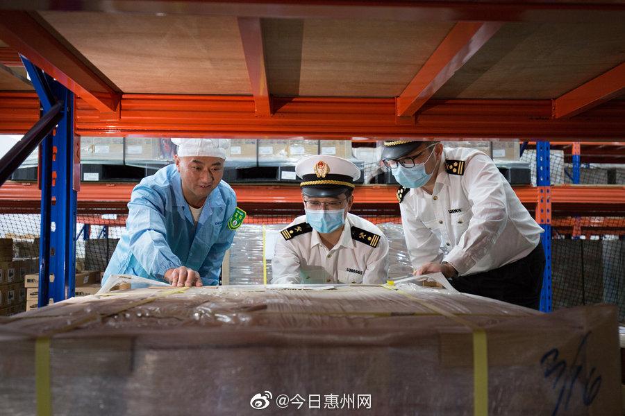 惠州月度进出口总额持续13个月正增长