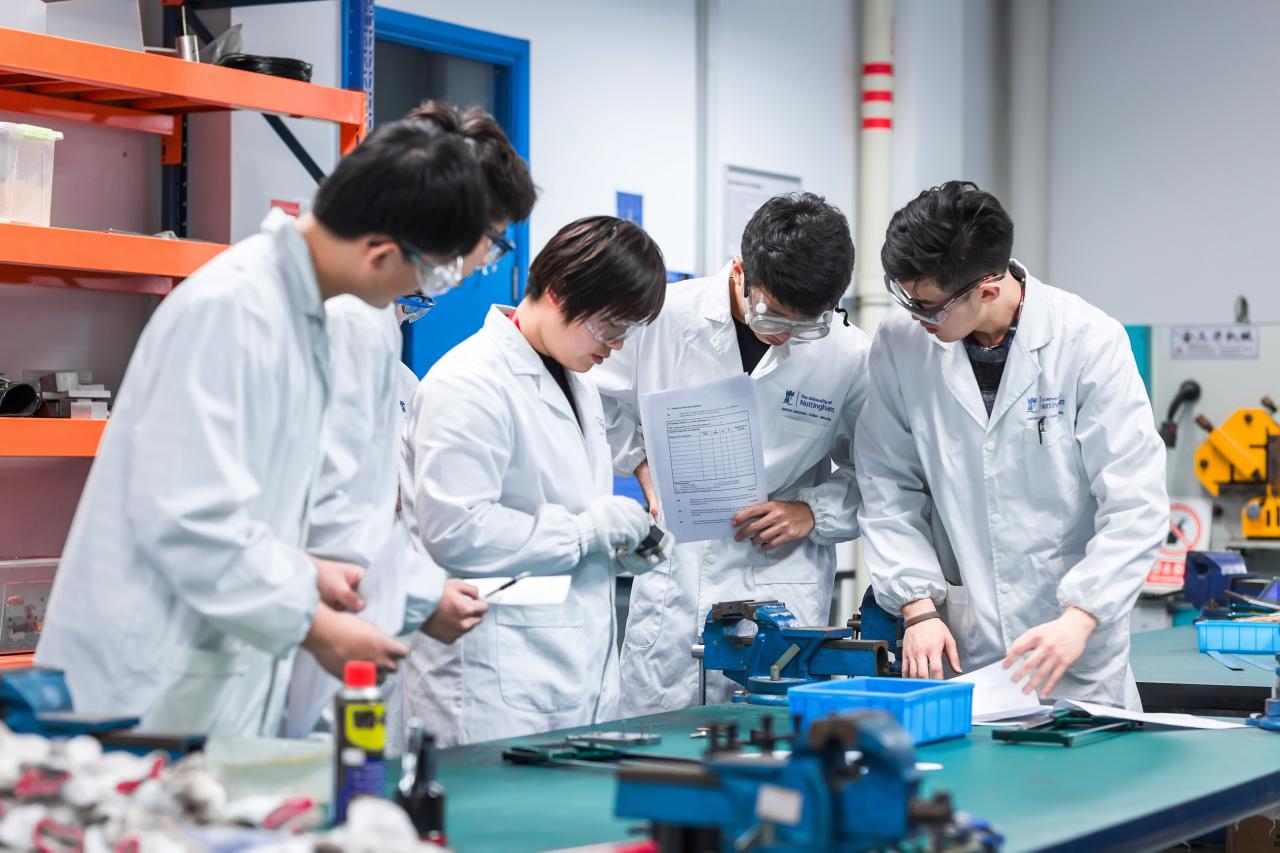 宁波诺丁汉大学两学科分别进入全球前0.5%和1%