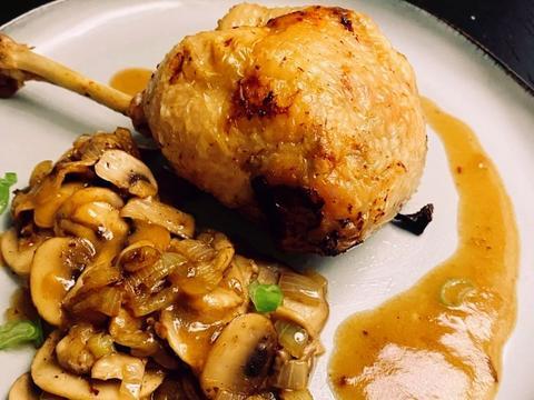 高颜值的家常美食推荐:法式去骨酿鸡腿,香橙烤鸡翅,香菇酿虾仁
