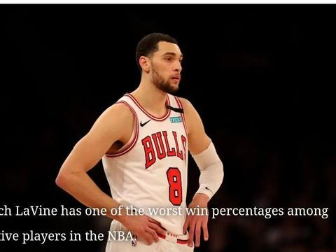 在常规赛中获胜率最差的5名比较活跃的NBA球员,拉文拉塞尔上榜