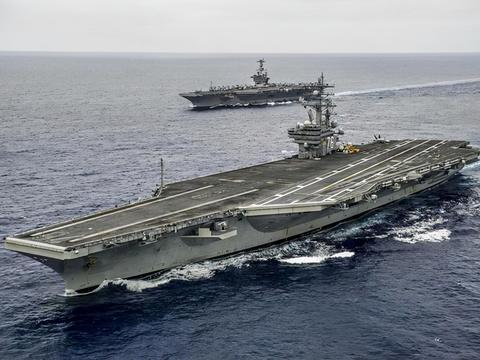 中国055大驱突现阿拉斯加,美军诡异操作,全球一片唏嘘