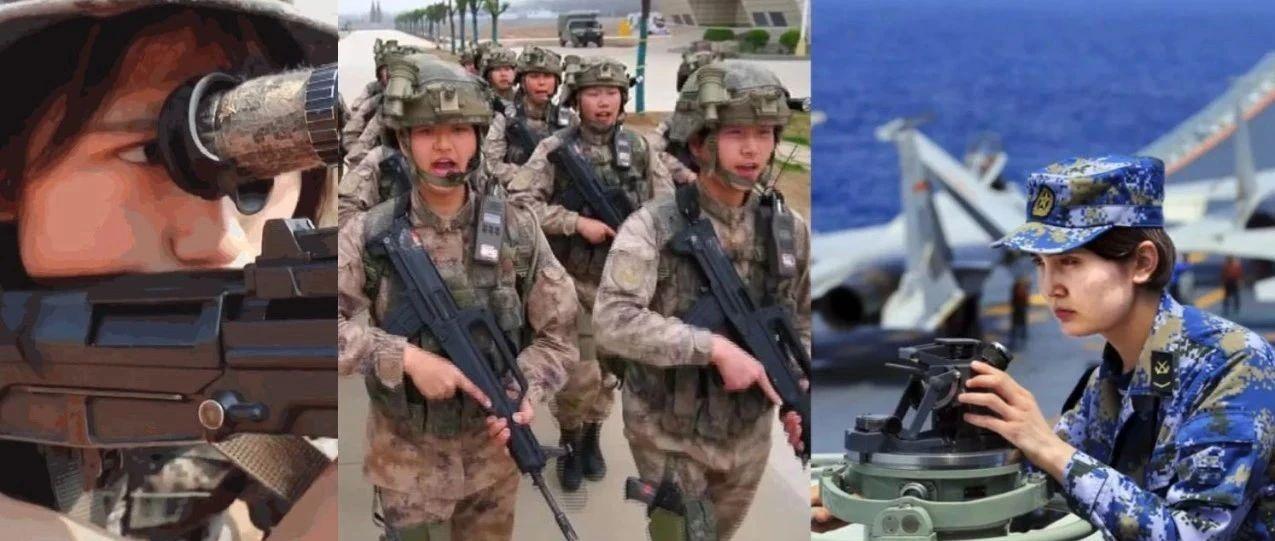 00后女兵开装甲车,实弹发射火箭炮……