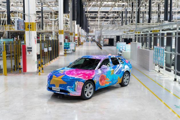 凯迪拉克纯电SUV LYRIQ年底预售 2022年正式上市