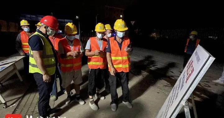 江阴山观实验小学金童分部扩建工程1号、2号楼通过主体结构验收
