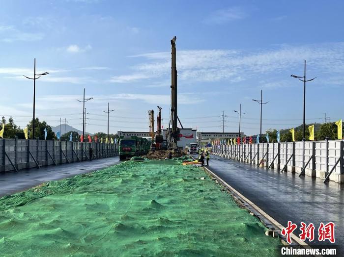 宁马城际铁路马鞍山段全线开工建设
