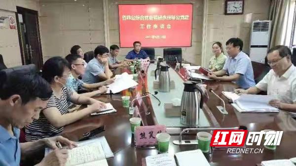 省非公综合党委调研永州非公党建工作