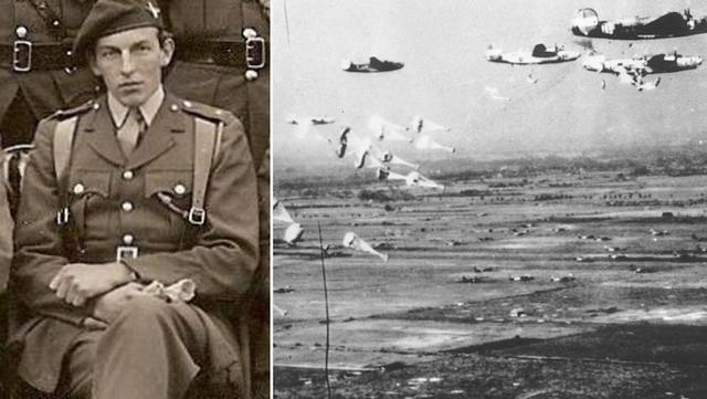二战故事:英军少校雨伞制服装甲车 后带百名士兵骑单车逃出生天