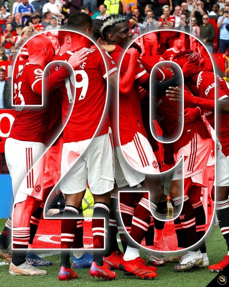 曼联连续29个英超客场不败,刷新英格兰顶级联赛纪录